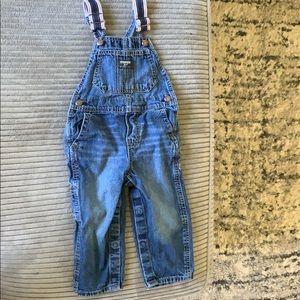 Baby OshKosh overalls size 18-24 mo.